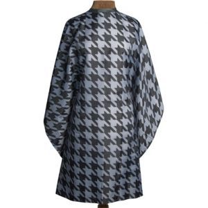 Fromm 1907 Hair Styling Cape Trendy Houndstooth Pattern #NTA025