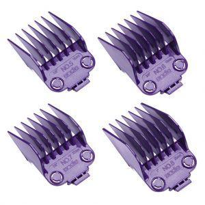 Andis Master Dual Magnet 4-Comb Set - Large #01415