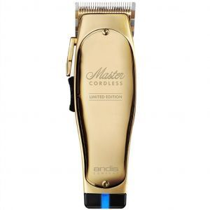 Andis Master Cordless LIMITED GOLD EDITION Clipper #12540 (Dual Voltage)