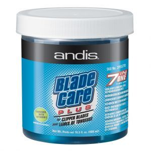Andis Blade Care Plus Jar For Clipper Blades 16.5 oz #12570