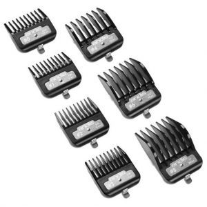 Andis BG Series Premium Metal Clip 7 Pcs Comb Set #33640