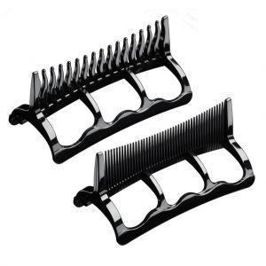 Andis Wide-tooth and Fine-tooth Attachment Combs Fits Styler 1875 Dryer #85030