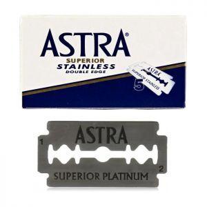 Astra Superior Stainless Double Edge Blades - 100 Blades