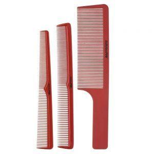 BaByliss Pro BARBERology Set of 3 Barber Combs #BCOMBSET3