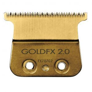 BaByliss Pro Gold Titanium 2.0 mm Deep Tooth Replacement T-Blade Fits All FX787 Models #FX707G2
