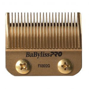 BaByliss Pro DLC and Titanium Coated Replacement Clipper Blade Fits FX870G, FX870RG, FXF880 #FX802G