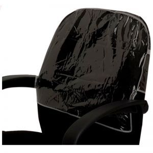Betty Dain Chair Back Cover - Black Round #197
