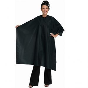 Betty Dain Whisper Styling Cape - Black #199S - 10 Piece Salon Value Pack