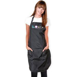 Betty Dain Love Stylist Apron Black #281-BLK