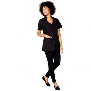 Betty Dain Avanti Stylist Jacket Black - 2X Large #8710-BLK