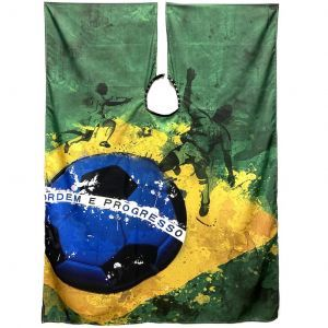 Betty Dain The International Cape Collection - Brasileiro Barber Cape #949-BRA