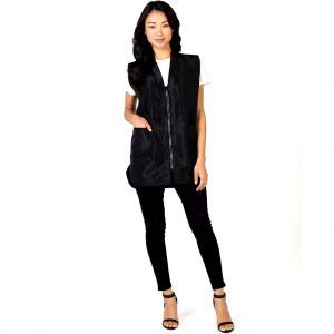 Betty Dain Stylist Wear Glitz Vest Black - 2X Large #1279