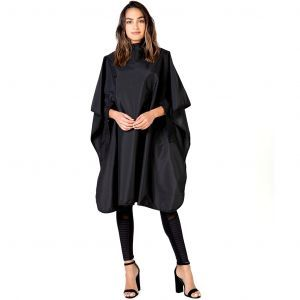 Betty Dain Hands Free All Purpose Cape with Arm Slits - Black, Purple, Silver #950