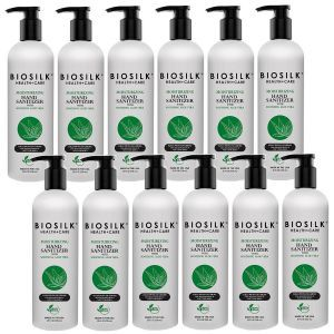 BioSilk Aloe Vera Hand Sanitizer 25 oz - 12 Pack