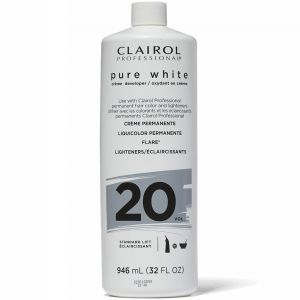 Clairol Soy 4 Plex Pure White Creme Developer 20 Volume 32 oz