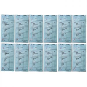 Cameo Salon Color Check Pads - Blue - 12 Pack
