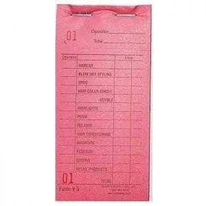 Cameo Salon Color Check Pads - Pink