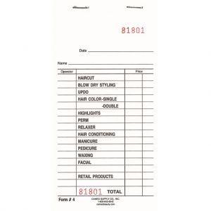 Cameo Salon Deluxe Check Pads