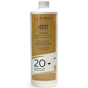 Clairol Soy 4 Plex Creme Permanente Developer 20 Volume 32 oz