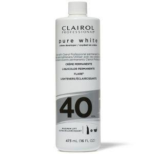 Clairol Soy 4 Plex Pure White Creme Developer 40 Volume 16 oz