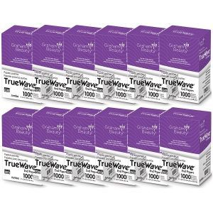 Graham True Wave End Papers Jumbo - 1,000 Papers - 12 Pack