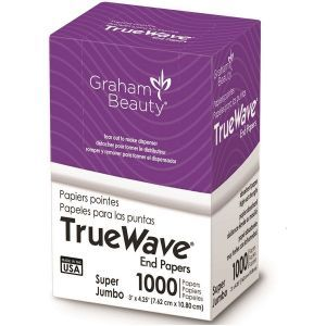Graham True Wave End Papers Super Jumbo - 1,000 Papers