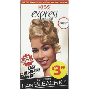 Kiss Express Color Complete Hair Bleach Kit - 20V Bleach #KB20SET