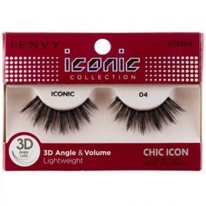 Kiss i-ENVY iconic Collection Chic Icon 3D Angle Eyelashes 1 Pair Pack - iconic 04 #KPEI04
