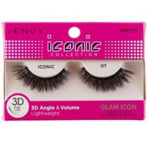 Kiss i-ENVY iconic Collection Glam Icon 3D Angle Eyelashes 1 Pair Pack - iconic 07 #KPEI07