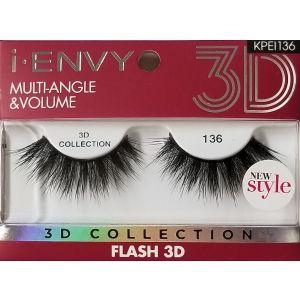 Kiss i-ENVY 3D Collection Multiangle & Volume Eyelashes #KPEI136