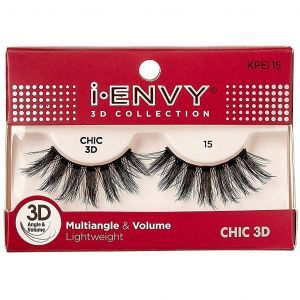 Kiss i-ENVY 3D Collection Multiangle & Volume Eyelashes 1 Pair Pack - CHIC 3D #KPEI15