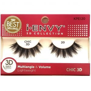 Kiss i-ENVY 3D Collection Multiangle & Volume Eyelashes 1 Pair Pack - CHIC 3D #KPEI20