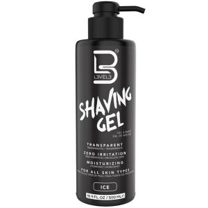 L3VEL3 Transparent Shaving Gel - Ice 16.9 oz