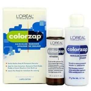 L'Oreal ColorZap Hair Color Remover 1 Application