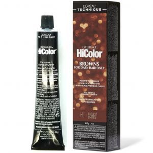 L'Oreal Excellence HiColor Browns For Dark Hair Only 1.74 oz