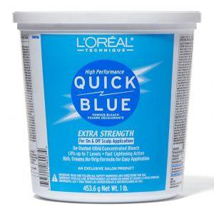 L'Oreal High Performance Quick Blue Powder Bleach 1 Lb
