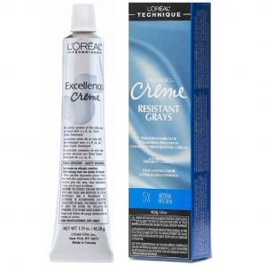 L'Oreal Excellence Creme Resistant Grays Permanent Haircolor 1.74 oz