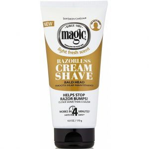 Softsheen Carson Magic Razorless Cream Shave - Bald Head 6 oz