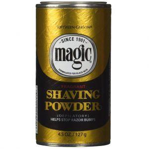 Softsheen Carson Magic Shaving Powder Gold - Fragrant 4.5 oz