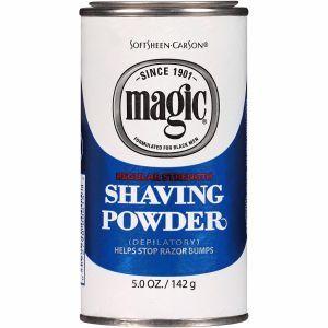 Softsheen Carson Magic Shaving Powder Blue - Regular Strength 5 oz