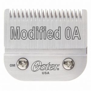 Oster Detachable Modified 0A Blade Fits Classic 76, Octane, Model One, Model 10 Clippers #76918-036