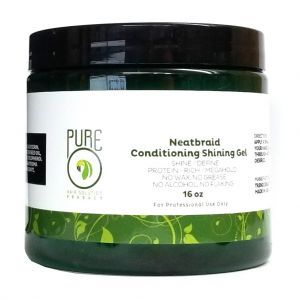 Pure O Natural Neat Braid Conditioning Shining Gel 16 oz