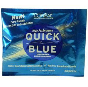 L'Oreal High Performance Quick Blue Powder Bleach 1 oz