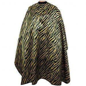 Vincent Safari Cutting Cape - Golden Zebra #VT2443
