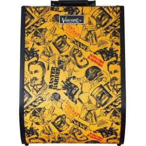 Vincent Hard Shell Backpack - Vintage Gold #VT10403