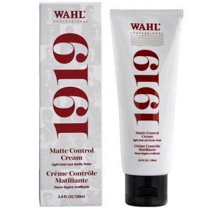 Wahl Professional 1919 Matte Control Cream 3.4 oz #805644