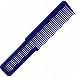 Wahl Large Clipper Styling Comb Royal Blue - 8