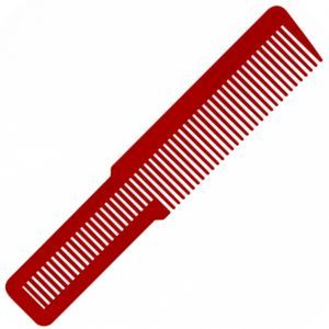 Wahl Large Clipper Styling Comb Red - 8