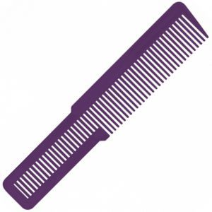 Wahl Large Clipper Styling Comb Purple - 8