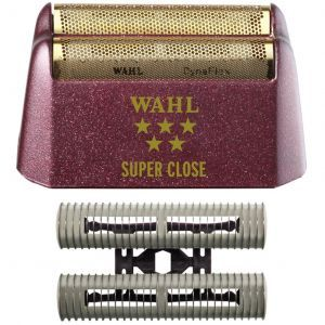 Wahl 5 Star Shaver / Shaper Replacement Foil & Cutter Bar Assembly - Gold Foil - Super Close #7031-100